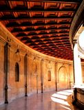 The Gallery Of The Palace Of Charles V Royalty Free Stock Photography