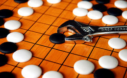Free The Game Of Go Royalty Free Stock Photo - 2074305