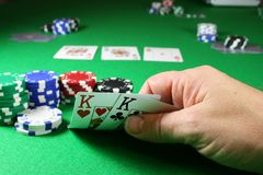 The Game - Pocket Kings Stock Photography
