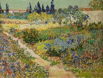 Free The Garden At Arles By Vincent Van Gogh Royalty Free Stock Photo - 198040395