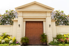 The Gate Mansion Stock Photo