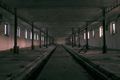 Free The Ghost Darkness Dirty Hall Stock Image - 71983941