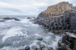 The Giants Causeway Long Exposure Royalty Free Stock Images