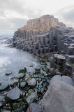 The Giants Causeway Long Exposure Stock Image