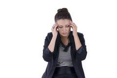 The Girl Headache Stock Photography