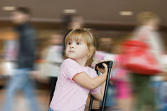 Free The Girl One At The Airport Stock Photo - 16664660