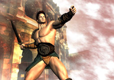 Free The Gladiator S Dream Stock Photography - 41260412