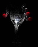 The Glass Of Bubbles Stock Photography