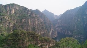 Free The Golden Dragon Gorge In China Is Located In The Northern Part Of Yangqing County, There Are Beautiful Mountains And Wonderful W Royalty Free Stock Photos - 176384588