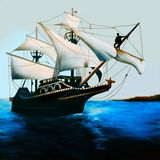 The Golden Hind Stock Images
