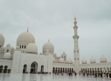 The Grand Mosque Of Abu Dhabi Royalty Free Stock Photo