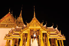 The Grand Palace At The Emerald Buddha Temple Royalty Free Stock Photography