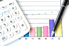 Free The Graph For Analysis Stock Photos - 30321353
