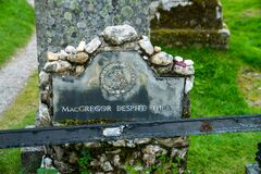 Free The Grave Of Rob Roy MacGregor Stock Image - 199380401