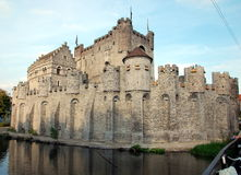 Free The Gravensteen Castle In Ghent Stock Photos - 80312693