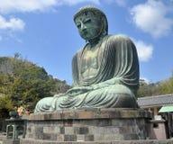 The Great Buddha At  Kotokuin Temple In Kamakura, Jap