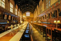 Free The Great Hall Of Christ Church In Oxford Royalty Free Stock Photography - 159553767