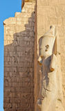 The Great Temple Of Karnak Stock Image
