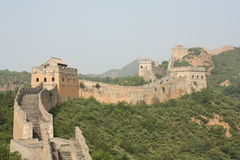 The Great Wall Of China Royalty Free Stock Photography