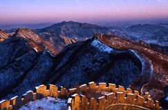 Free The Great Wall Of China Royalty Free Stock Photo - 3432005