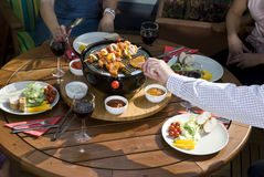 The Grill Party Stock Image