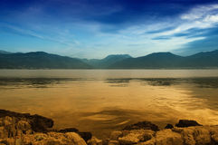 The Gulf Of Kotor In Montenegro Royalty Free Stock Photography