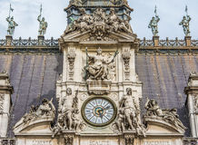 Free The Hôtel De Ville Close-up  Of The Clock Tower Stock Images - 42474714