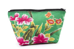 The Handwork Does Makeup Bag(purse) Stock Photo