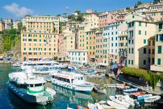 Free The Harbour, Camogli Royalty Free Stock Image - 133887646