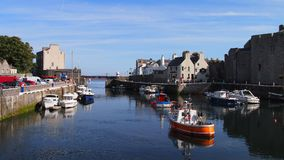 Free The Harbour In Castletown, Isle Of Man Royalty Free Stock Photography - 123125287