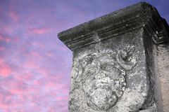The Head Of Jupiter With Rams Horns. Stock Images