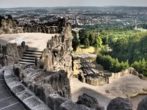 Free The Hercules Monument Is An Important Landmark In The German City Of Kassel. It Is Located In The Bergpark Wilhelmshöhe Park Royalty Free Stock Image - 217265396
