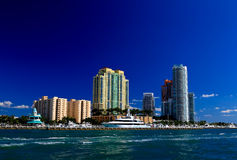 Free The High-rise Buildings In Miami Beach Royalty Free Stock Image - 7368306