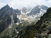 The High Tatras Mountains, Slovakia Stock Images