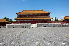 The Historical Forbidden City In Beijing Royalty Free Stock Images