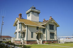 Free The Historical Point Fermin Lighthouse Stock Images - 93670594