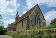 Free The Holy Sepulchre Church, Warminghurst, Sussex, UK Stock Photo - 149907690
