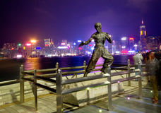 "Free The Hong Kong ""Avenue Of Stars At Victoria Bay Stock Photography - 77287612"