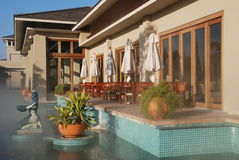 The Hot Spring Resort Royalty Free Stock Image