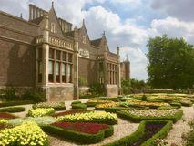 The House And Colourful Garden Royalty Free Stock Images