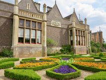 The House And The Garden Royalty Free Stock Image