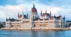 Free The Hungarian Parliament Building Panorama Stock Photos - 44694933