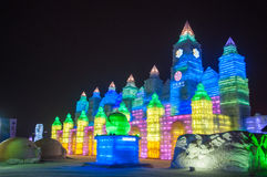 Free The Ice Engraving Building In Harbin Royalty Free Stock Image - 51099416