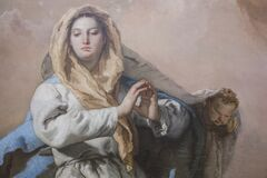 Free The Immaculate Conception Detail, 1769. Painted By GB Tiepolo Stock Photography - 175750432
