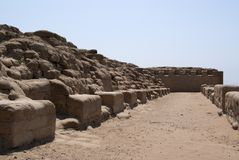 The Incan Temple Of The Sun In Pachacamac Royalty Free Stock Photos