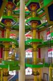 The Inside Of Tambun Tibetian Buddhist Temple Pagoda, Perak Royalty Free Stock Photos