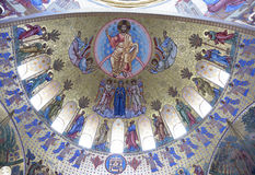 The Interior Of The Naval Cathedral Of St. Nicholas Royalty Free Stock Photo