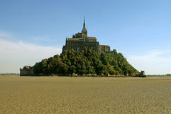 The Island Of Mont Saint Michel Royalty Free Stock Image
