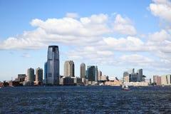 The Jersey City Skylines Stock Photo