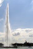The Jet D Eau Fountain, Geneva, Switzerland, Stock Photos